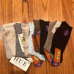 Women's Sock -Lot of Ten Pair